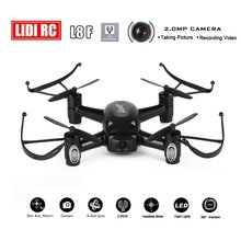 LIDI RC L8F 2.4Ghz 6-aixs 5.8G PFV RC Quadcopter with 2.0MP HD Camera Headless Altitude Hold Mode One Key Return RC Drone