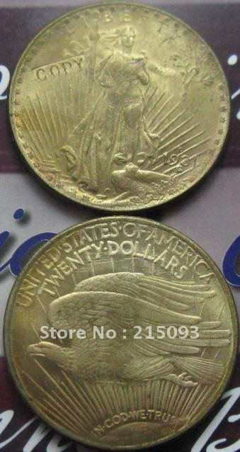 1931-D Gold $20 Saint Gaudens Double Eagle copy coins commemorative coins-replica coins medal coins collectibles badge