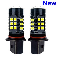 2Pcs P13W PSX26W Super Bright 1200Lm 27 SMD 3030 LED Auto Front Fog Lamp Car Daytime Running Lights DRL Driving Bulb 6000K White(China)