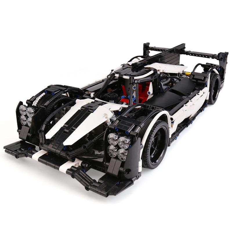 23018 Technic samochód MOC 5530 Hybrid Super Speed samochód kompatybilny z dla dzieci zabawki dla dzieci klocki klocki zabawki dla dzieci prezenty w Klocki od Zabawki i hobby na  Grupa 2
