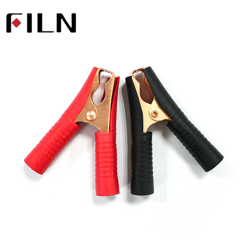 Car Alligator Clips Battery Clamps Crocodile Clip 100A 90mm Red Black