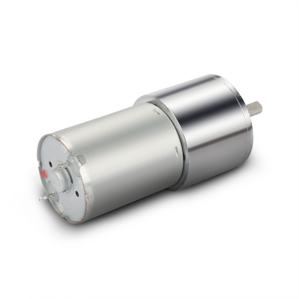 UXCELL ZGA28RP DC 24V 60RPM Micro Gear Box Motor Speed Reduction Centric Output Shaft