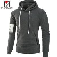 John S Bakery Brand 2018 New Hoodies Brand Men Solid Color Sweatshirt Male Hoody Hip Hop