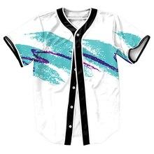 Pappbecher Jersey mit tasten Sommer Stil tops tees herren Kleidung Hip Hop 3d casual oberhemd shirt jungen Tees