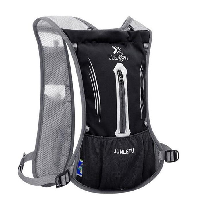 Men Women Lightweight Running Backpack Outdoor Sports Trail Racing Marathon Hiking <font><b>Hydration</b></font> Vest Pack 1.5L Water Bag