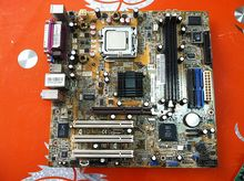 865 motherboard disassemble 775 needle motherboard ddr1 fully integrated cpu small second hand  100% tested perfect quality
