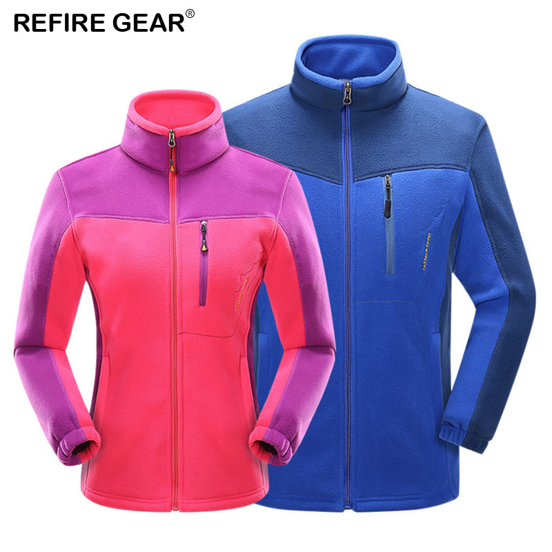 ReFire Gear Autumn Fleece Jacket Women Men Liners Warm Thermal Outdoor Jackets Hiking Camping Climbing Fishing Trekking Jacket Pakistan