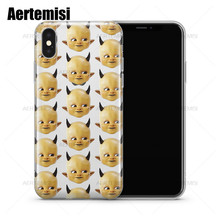 Aertemisi Phone Cases Post Malone Posty Fest Baby Clear TPU Case Cover for iPhone 6 6s 7 8 Plus X XS Max XR
