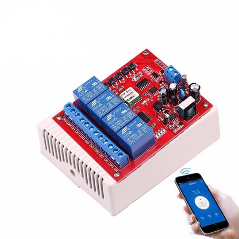 220v-fontb4-b-font-channel-wifi-relay-switch-module-phone-app-wireless-remote-control-jog-self-lock-