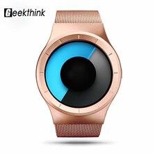 2016 Nowy zegarek Kwarcowy Mężczyźni Moda Casual Watch Role Stali Celeste Zegarek Serii Northern Lights Zegarki Unikalny projekt prezent