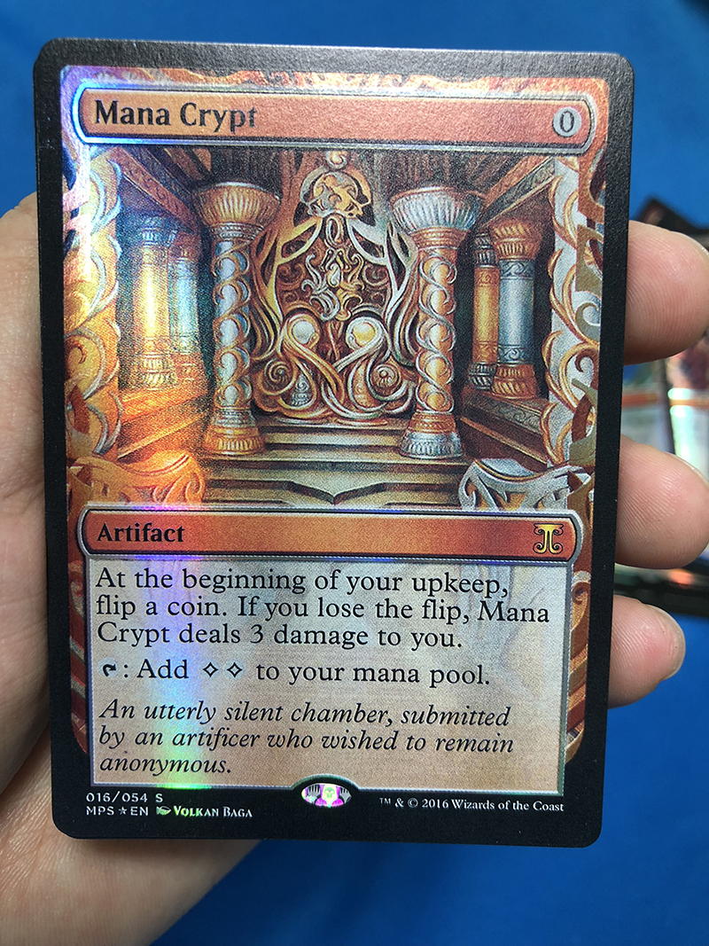 Mana Crypt Kaladesh Inventions Foil Magician ProxyKing 8.0 VIP The Proxy Cards To Gathering Every Single Mg Card.