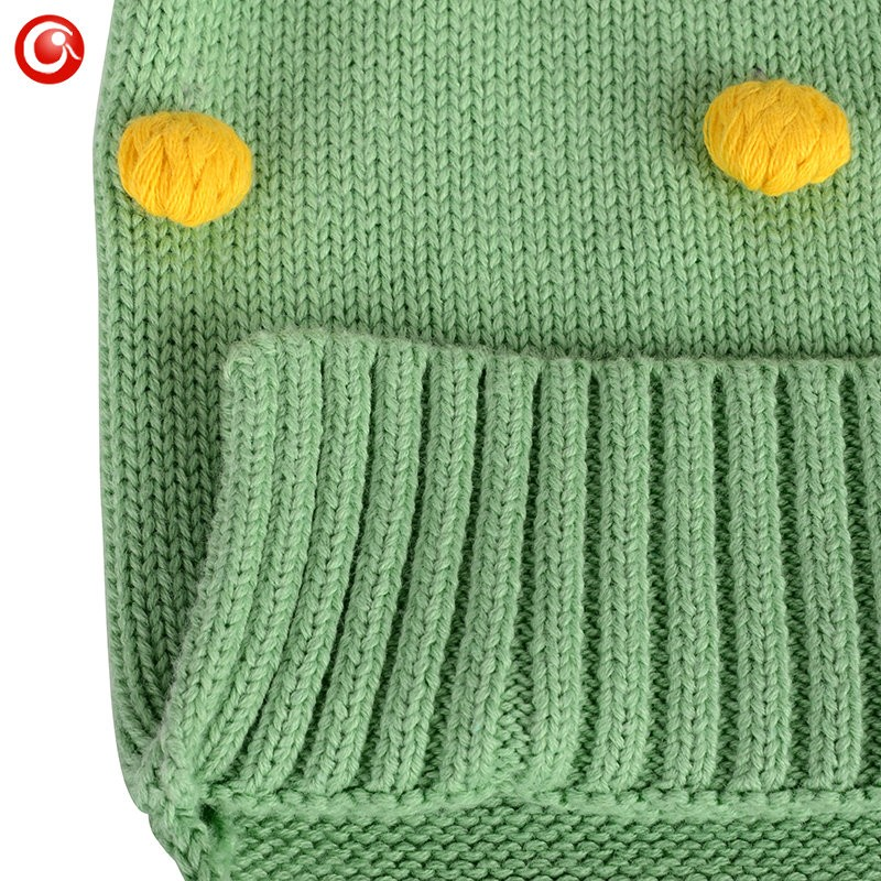 Children Christmas Winter Sweaters Baby Girls Cotton Kids Knitted Pattern Warm Cardigan Clothes With 25pcs Ball Tops For Boys   (4)
