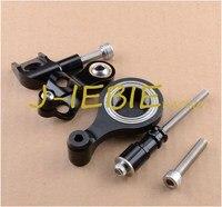CNC Steering Damper Stabilizer Bracket Mounting For Yamaha YZF R6 2006 2016 2007 2008 2013 2014 2015 R1 2009 2012 2010 2011