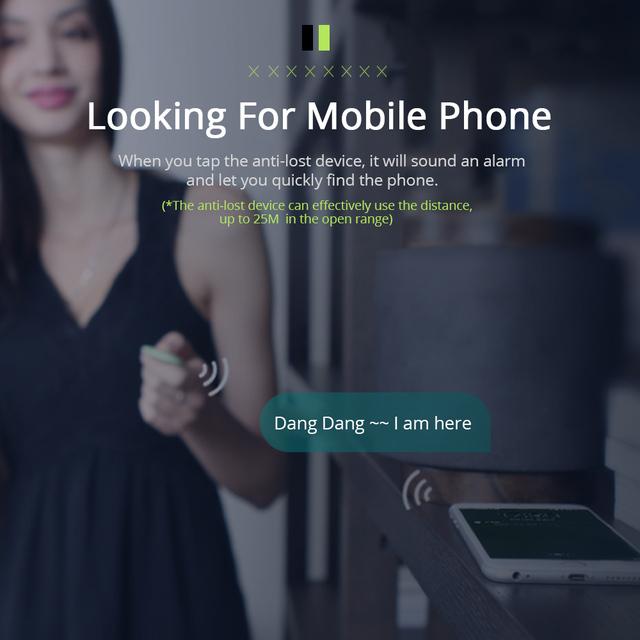 Wireless Smart Anti Lost Tracker