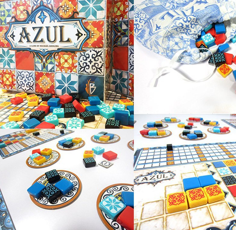 Azul Board Game Hot Plan B Games Azul Board Game For Party Game Hot  Sell|Card Games| - AliExpress