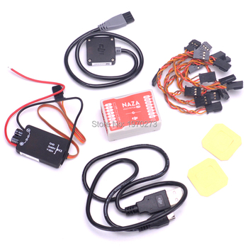 100% Original Naza M Lite Flight Control Controller Board with PMU & LED & Cables For RC Quadcopter Multicopter