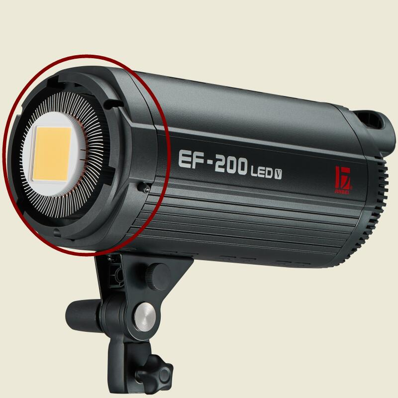 JINBEI Spare Part Plastic Front Cover With Bowens Mount For EF-200 LED Continuous Light