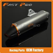 Aluminum Exhaust Muffler 38MM For CRF150F CRF230F 2003 2013 Motocross Enduro Supermoto Dirt Bike Motorcycle