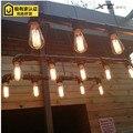 Лампа американский стиль ретро промышленные творческой личности ресторан бар эдисон декоративные водопровод