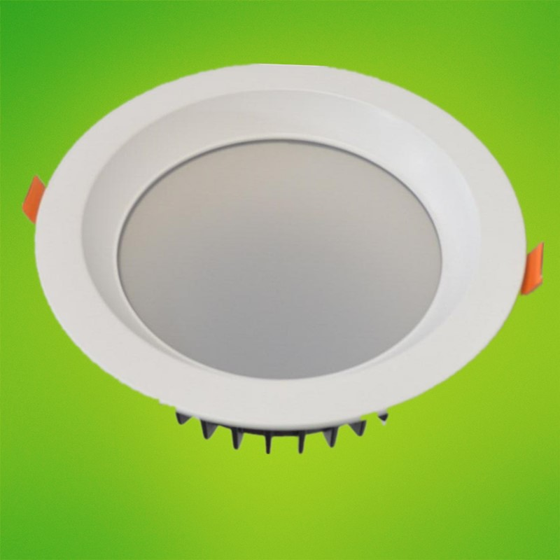 LED downlight 20W 30W COB 8inch high quality high lumens with reflector two years warranty 30W led recessed ceiling down lights