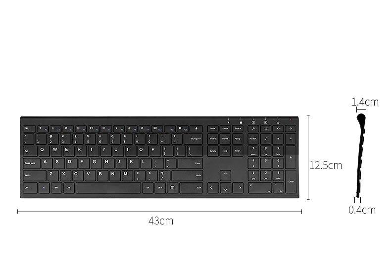 B.O.W Ultra thin Metal wireless Slim keyboard B.O.W Ultra thin Metal wireless Slim keyboard HTB1p0odSXXXXXbaXXXXq6xXFXXXO