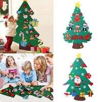 Войлок Рождественская елка Набор с орнаментом Рождественский подарок дверной Настенный декор