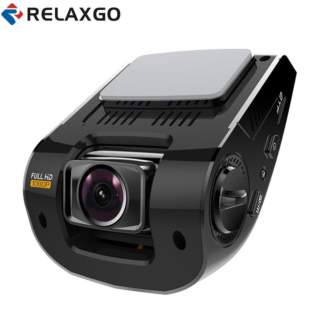 relaxgo 2 4 car camera gps logger mini video recorder full hd 1080p car dvr camcorder wdr night. Black Bedroom Furniture Sets. Home Design Ideas