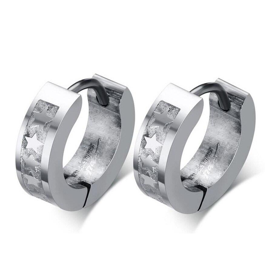 New Women Crystal Round Jewelery Earrings Party Wedding Shining Stud Earrings For men women