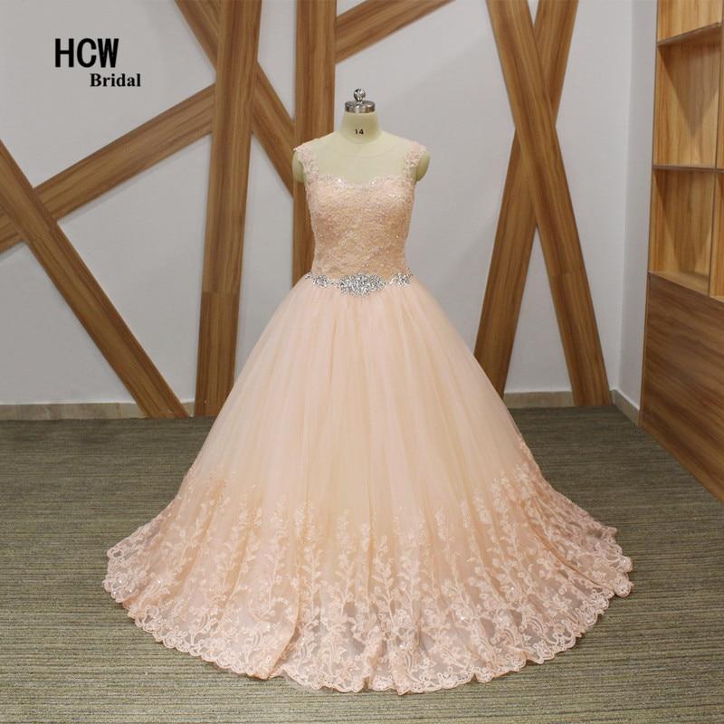 Anggun Lace Ball Gown Quinceanera Gaun 2019 Chic Beaded Appliques Tulle Lantai Panjang Lace Up Kembali Manis 15 Quinceanera Gaun