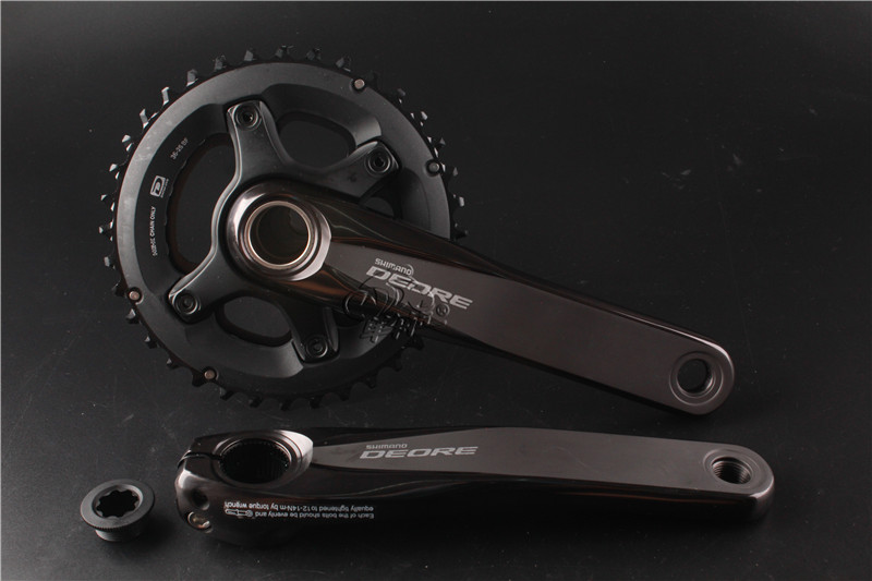 2017 NEW!! Shimano DEORE FC M6000 Hollow Tech II 2x11S 38x28T 36x26T 170mm MTB Crankset shimano deore fc m610 fc m612 m615 aluminium 3x10 2x10 speed crankset with bb51