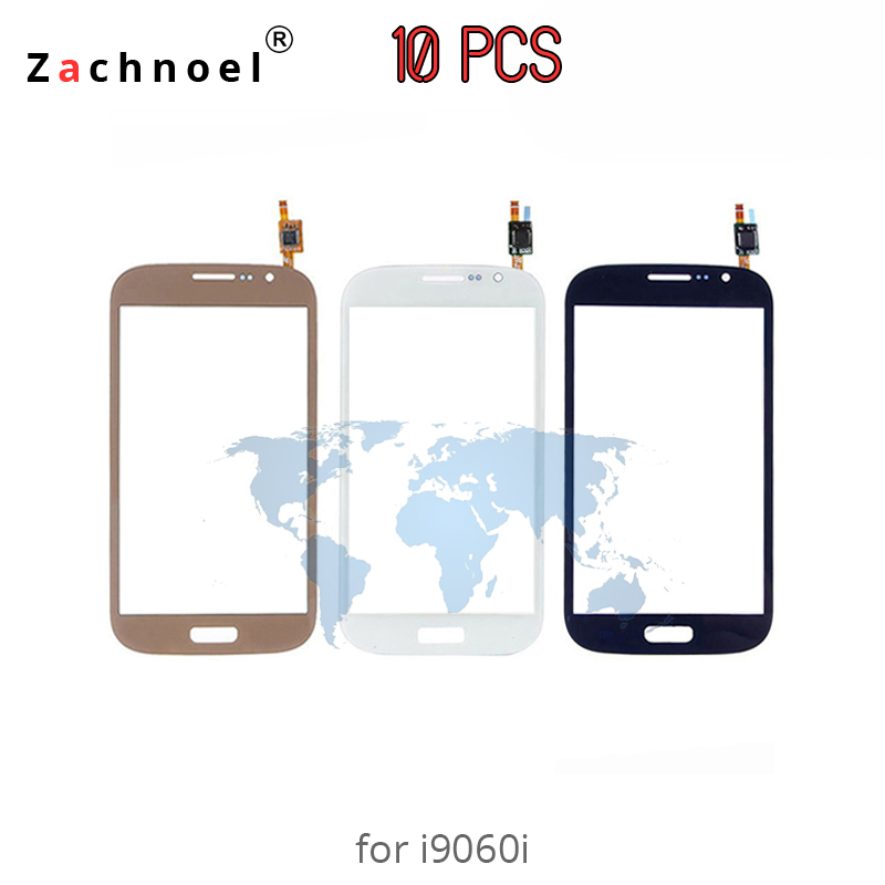 10pcs Touch Screen For Samsung Galaxy Grand Neo Plus I9060i Digitizer Panel Sensor Lens Glass White Black Gold Replacement Parts