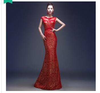 2017 Free shipping Tank lace party Homecoming Prom Gown Ball Formal Fish  tail Long evening dresses MJ141 vestido de festa fe4fb082f307