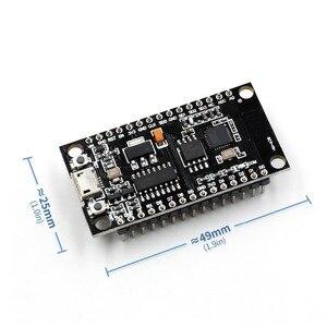 Image 2 - 1 قطعة V3 NodeMcu لوا واي فاي وحدة التكامل من ESP8266 + ذاكرة إضافية 32 متر فلاش ، USB المسلسل CH340G