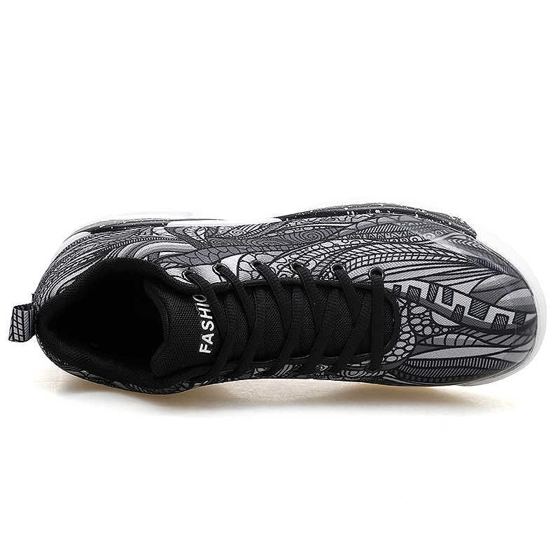 Mỹ Không Nam huấn luyện viên Đỏ Xám xác thực Giày bóng rổ Classic Retro thoải mái Giày Nam & Nữ zapatillas Hombre