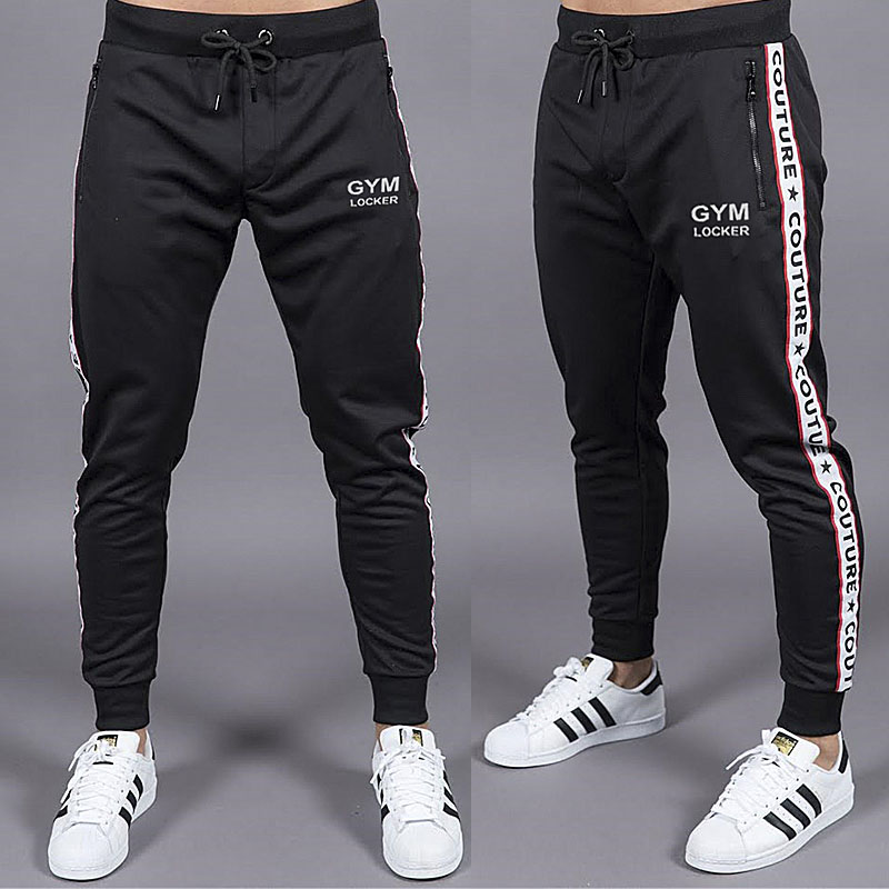 Men's clothing 2018 men's Sweatpants autumn and winter men's gyms fitness trousers jogger street casual pants men's trousers