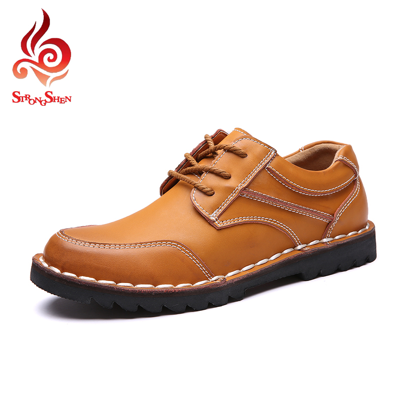 ФОТО Business Men Shoes Fashion Casual Flats Thread Striped Design Men's Shoes Oxfords Shoes Spring Autumn Winter Leisure Shoes LB801