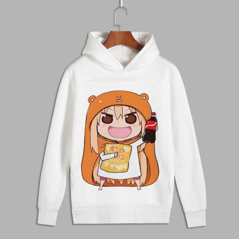 Himouto! Umaru-chan Cosplay Doma Umaru Print Pullover Hoodie Sweatshirts Men Women Unisex Fleece Hoody For Autumn