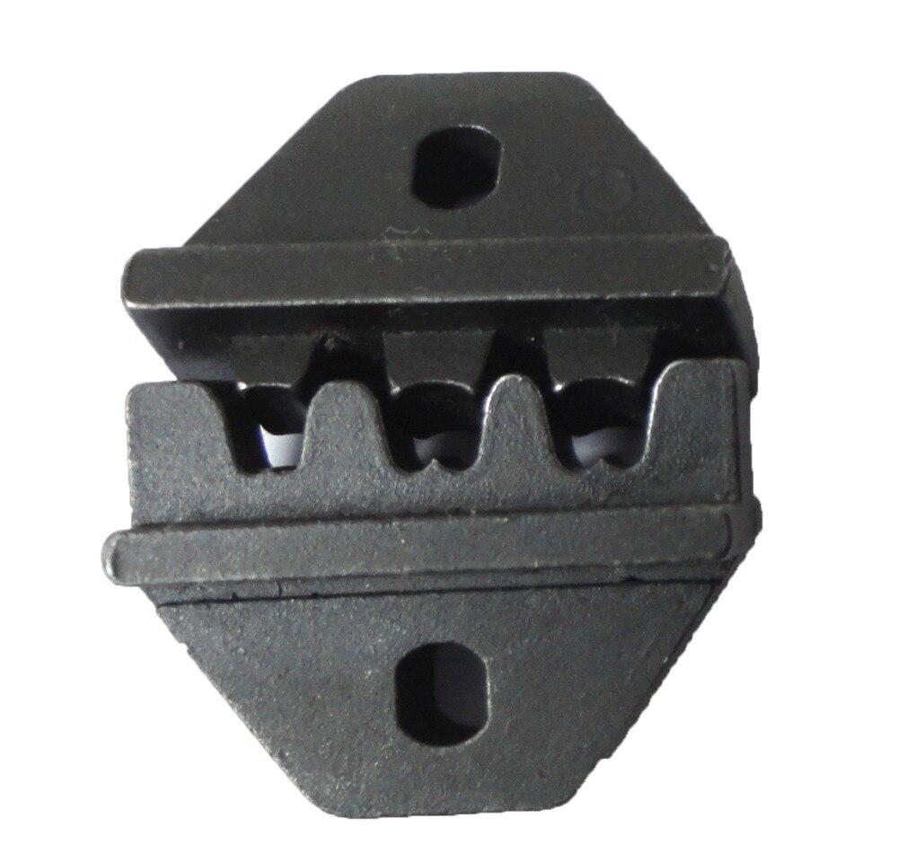 MC4 connectors 2.5-6mm2 MC4 crimping jaw solar PV crimping tool dies replaceable 2546B crimping die