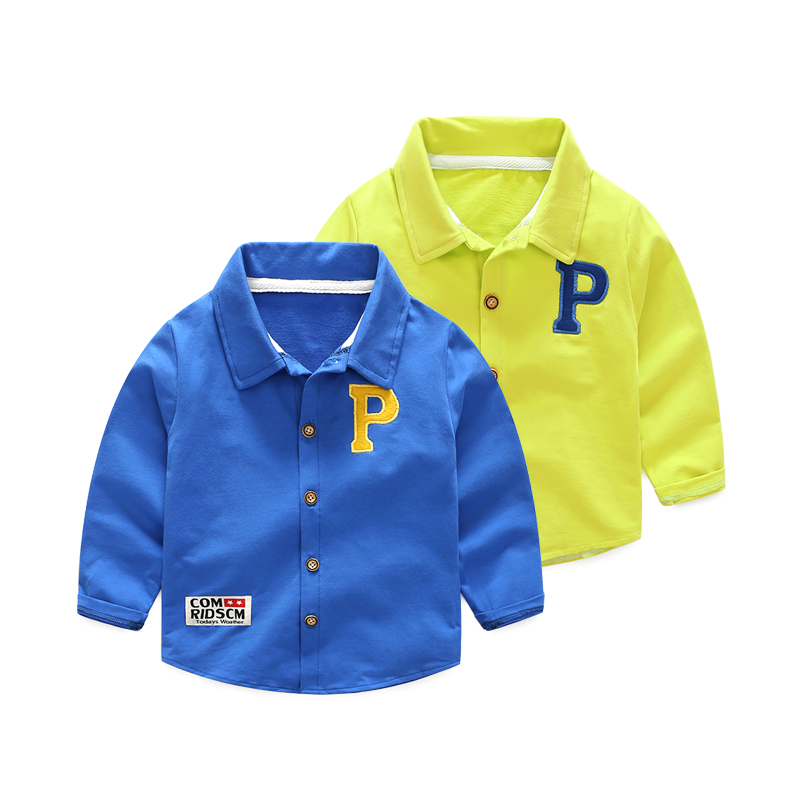 Koszulka dziecięca z guzikami Koszulka polo dla dziewczynki z - Ubrania dziecięce - Zdjęcie 3