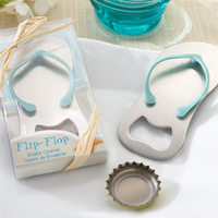 Silver Slipper Shaped Sandal Flip-flop Beer Bottle Opener Gift