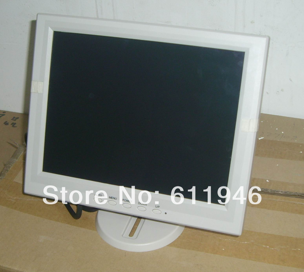 12-inch color cash registers LCD POS Monitor with touch screen