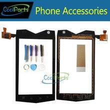 1 шт./лот Высокое качество для TeXet TM-4082R TM-4104R х-драйвер 4.0 дюйма Сенсорный экран планшета Стекло Панель с инструментом и Клейкие ленты черный Цвет