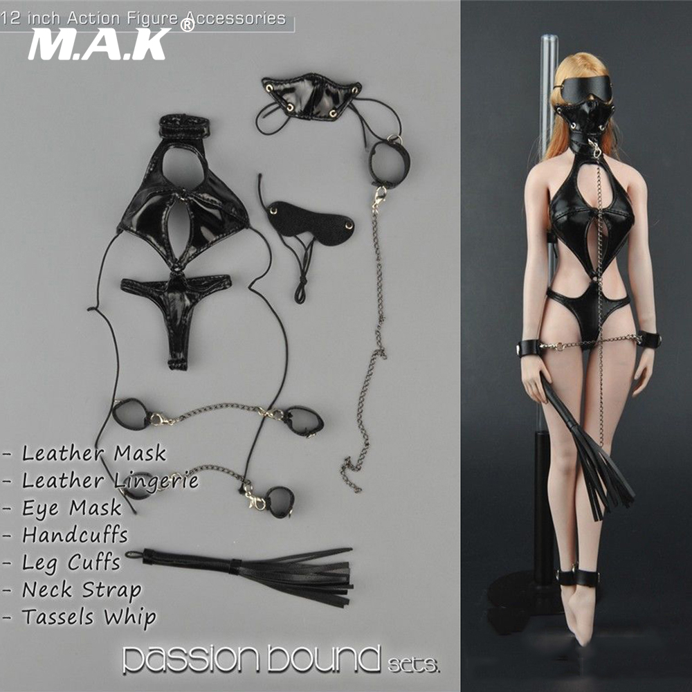 """ZYTOYS ZY5005 1//6 Scale Female Underwear Model Leather for 12/"""" Figure"""