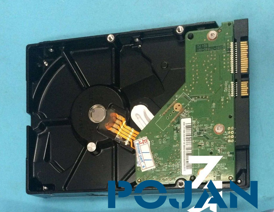 Sata Hard Drive Disk for Designjet T7100 HDD With FW CQ105-67068 CQ105-67039 ink plotter parts