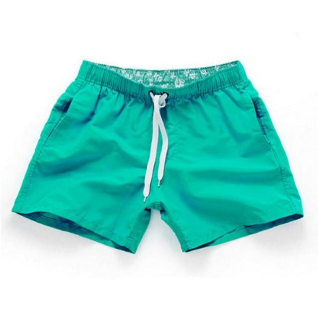 650b8a202f30 € 7.06 43% de DESCUENTO|Traje de baño de secado rápido para hombre  pantalones cortos de verano playa Surf natación deporte corto pantalones ...