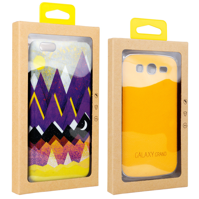 Paper Cell Phone Case Packaging Box Retail Package Boxes for Mobile Phone Cover