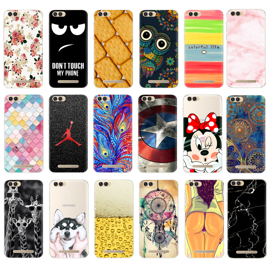 for Doogee X30 Case 5.5 inch Silicone Cover for Doogee X30 X 30 Phone Cases Back Cover for Doogee X30 Case TPU Soft Fundas Capa