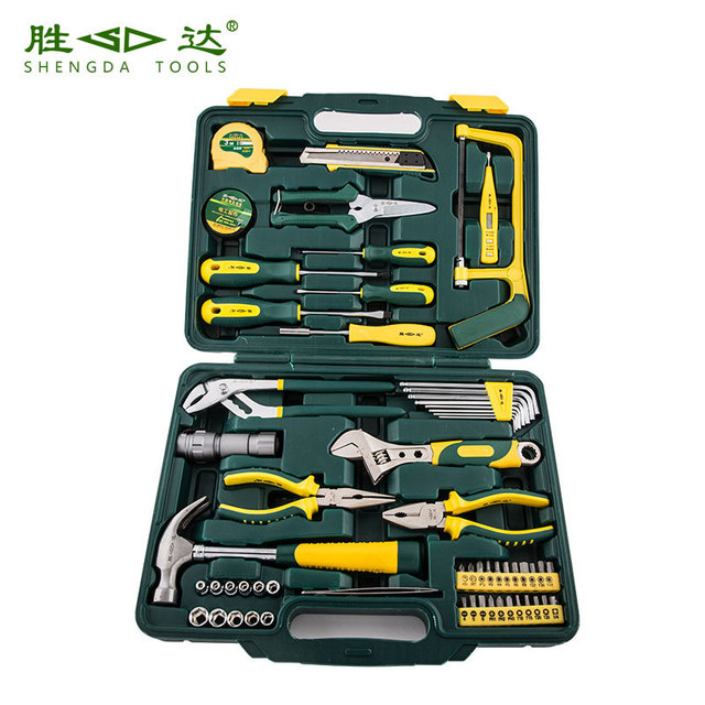 Household kit combination/Vehicle multifunction toolbox/The electrician group/Garden group