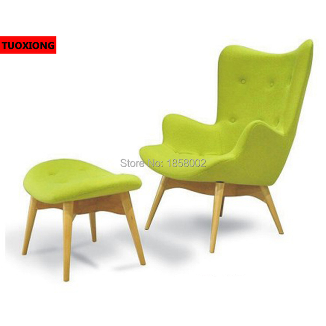 Attractive Studio Chairs Casual High Back Parlor Chaise Lounge Ergonomic Cashmere Chair  Fiberglass Swan Chair Leisure IKEA