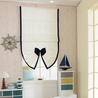Included track Japanese style Blind Splice Kitchen Curtains Short Door Curtains Shade Blinds Window Treatment R 012